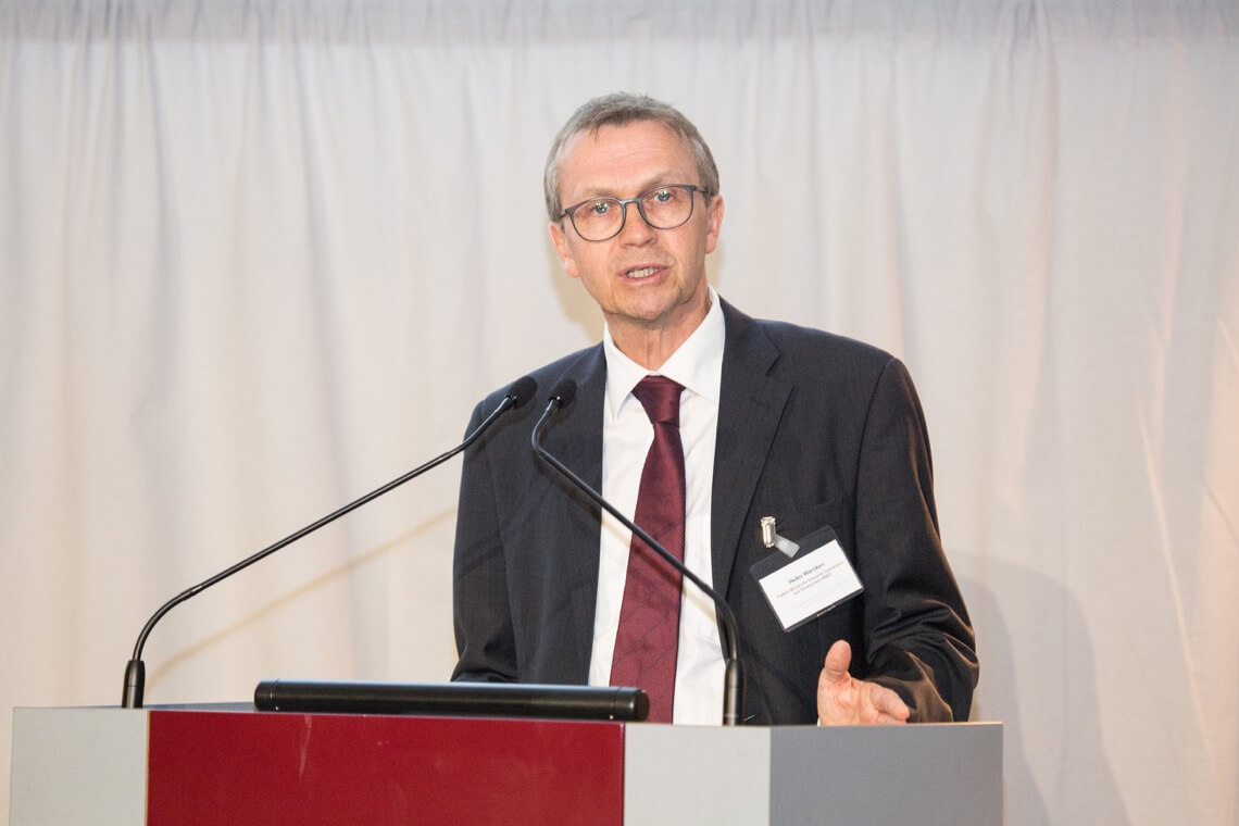 Heiko Warnken, Head of the Division for Health, Social Security and Population Policy at Germany's Federal Ministry for Economic Cooperation and Development (BMZ)